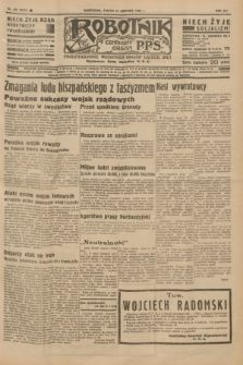 Robotnik : centralny organ P.P.S. R.41 [i.e.42], nr 261 (21 sierpnia 1936) = nr 6745