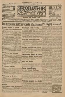 Robotnik : centralny organ P.P.S. R.41 [i.e.42], nr 263 (22 sierpnia 1936) = nr 6747 (po konfiskacie nakład drugi)