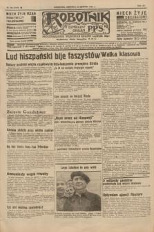 Robotnik : centralny organ P.P.S. R.41 [i.e.42], nr 264 (23 sierpnia 1936) = nr 6748