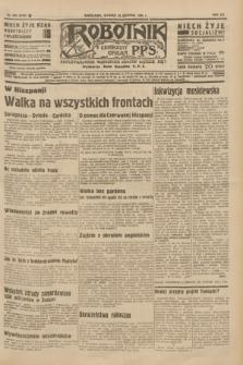 Robotnik : centralny organ P.P.S. R.41 [i.e.42], nr 266 (25 sierpnia 1936) = nr 6750