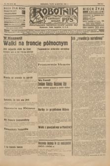 Robotnik : centralny organ P.P.S. R.41 [i.e.42], nr 270 (28 sierpnia 1936) = nr 6754
