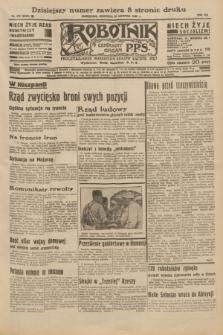 Robotnik : centralny organ P.P.S. R.41 [i.e.42], nr 272 (30 sierpnia 1936) = nr 6756
