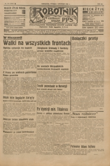 Robotnik : centralny organ P.P.S. R.41 [i.e.42], nr 274 (1 września 1936) = nr 6758