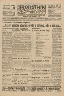 Robotnik : centralny organ P.P.S. R.41 [i.e.42], nr 279 (6 września 1936) = nr 6763