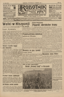 Robotnik : centralny organ P.P.S. R.41 [i.e.42], nr 288 (14 września 1936) = nr 6772