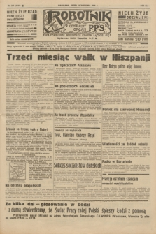 Robotnik : centralny organ P.P.S. R.41 [i.e.42], nr 297 (23 września 1936) = nr 6781