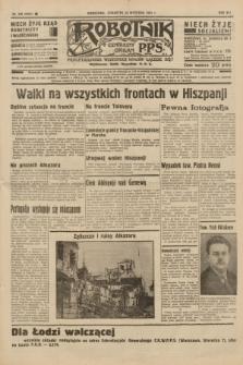Robotnik : centralny organ P.P.S. R.41 [i.e.42], nr 298 (24 września 1936) = nr 6782