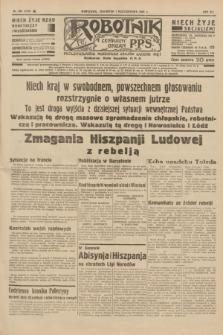 Robotnik : centralny organ P.P.S. R.41 [i.e.42], nr 305 (1 października 1936) = nr 6789