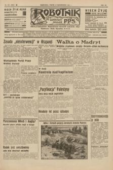 Robotnik : centralny organ P.P.S. R.41 [i.e.42], nr 313 (9 października 1936) = nr 6797