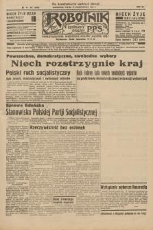 Robotnik : centralny organ P.P.S. R.41 [i.e.42], nr 321 (16 października 1936) = nr 6805 (po konfiskacie nakład drugi)