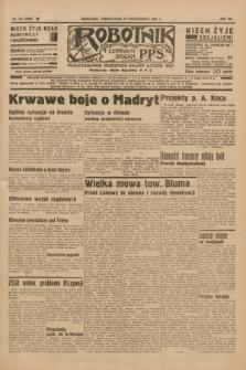 Robotnik : centralny organ P.P.S. R.41 [i.e.42], nr 324 (19 października 1936) = nr 6808