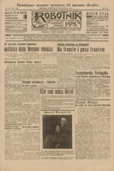 Robotnik : centralny organ P.P.S. R.41 [i.e.42], nr 330 (25 października 1936) = nr 6814