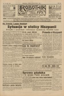 Robotnik : centralny organ P.P.S. R.41 [i.e.42], nr 332 (27 października 1936) = nr 6816