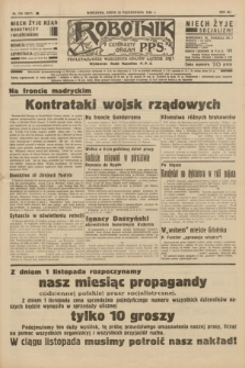 Robotnik : centralny organ P.P.S. R.41 [i.e.42], nr 333 (28 października 1936) = nr 6817