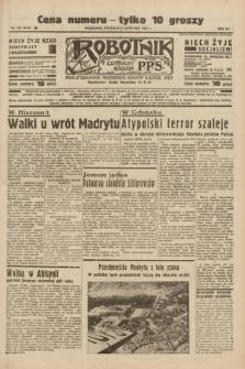 Robotnik : centralny organ P.P.S. R.41 [i.e.42], nr 344 (8 listopada 1936) = nr 6828