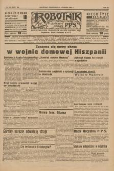 Robotnik : centralny organ P.P.S. R.41 [i.e.42], nr 345 (9 listopada 1936) = nr 6829
