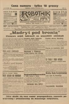 Robotnik : centralny organ P.P.S. R.41 [i.e.42], nr 350 (14 listopada 1936) = nr 6834