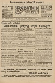 Robotnik : centralny organ P.P.S. R.41 [i.e.42], nr 361 (24 listopada 1936) = nr 6845