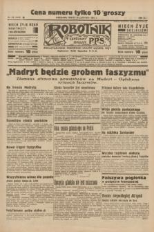Robotnik : centralny organ P.P.S. R.41 [i.e.42], nr 365 (28 listopada 1936) = nr 6849