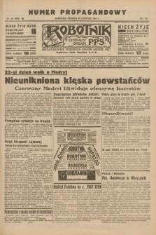 Robotnik : centralny organ P.P.S. R.41 [i.e.42], nr 366 (29 listopada 1936) = nr 6850