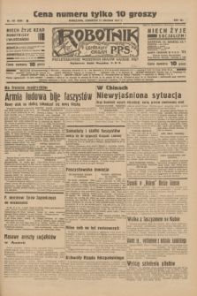 Robotnik : centralny organ P.P.S. R.41 [i.e.42], nr 385 (17 grudnia 1936) = nr 6869