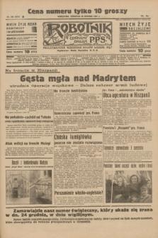 Robotnik : centralny organ P.P.S. R.41 [i.e.42], nr 389 (20 grudnia 1936) = nr 6873