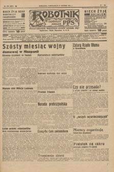 Robotnik : centralny organ P.P.S. R.41 [i.e.42], nr 390 (21 grudnia 1936) = nr 6874