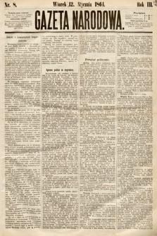 Gazeta Narodowa. 1864, nr8