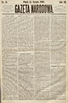 Gazeta Narodowa. 1864, nr11