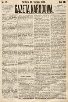 Gazeta Narodowa. 1864, nr13