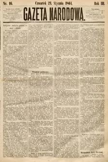 Gazeta Narodowa. 1864, nr16