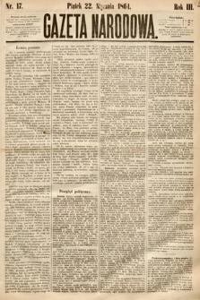 Gazeta Narodowa. 1864, nr17