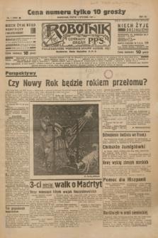 Robotnik : centralny organ P.P.S. R.41 [i.e.43], nr 1 (1 stycznia 1937) = nr 6882