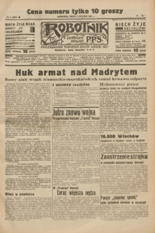 Robotnik : centralny organ P.P.S. R.41 [i.e.43], nr 6 (6 stycznia 1937) = nr 6887
