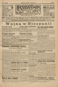 Robotnik : centralny organ P.P.S. R.41 [i.e.43], nr 7 (7 stycznia 1937) = nr 6888