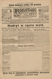 Robotnik : centralny organ P.P.S. R.41 [i.e.43], nr 9 (8 stycznia 1937) = nr 6890 (po konfiskacie nakład drugi)