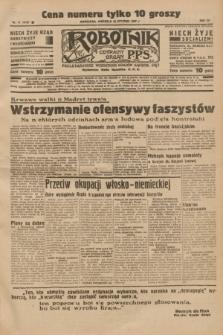 Robotnik : centralny organ P.P.S. R.41 [i.e.43], nr 11 (10 stycznia 1937) = nr 6892