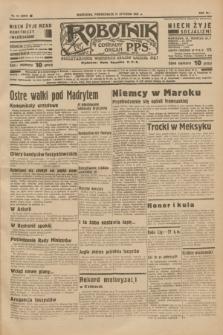 Robotnik : centralny organ P.P.S. R.41 [i.e.43], nr 12 (11 stycznia 1937) = nr 6893