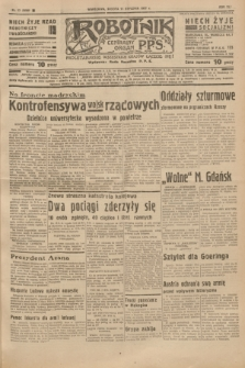 Robotnik : centralny organ P.P.S. R.41 [i.e.43], nr 17 (16 stycznia 1937) = nr 6898