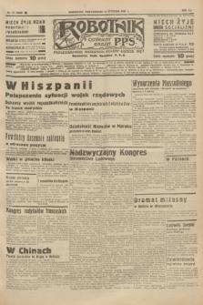Robotnik : centralny organ P.P.S. R.41 [i.e.43], nr 19 (18 stycznia 1937) = nr 6900