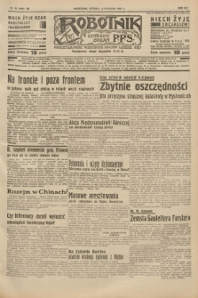 Robotnik : centralny organ P.P.S. R.41 [i.e.43], nr 20 (19 stycznia 1937) = nr 6901