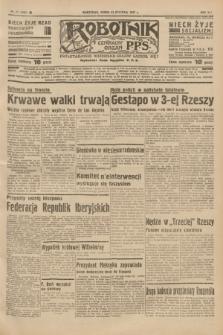 Robotnik : centralny organ P.P.S. R.41 [i.e.43], nr 21 (20 stycznia 1937) = nr 6902