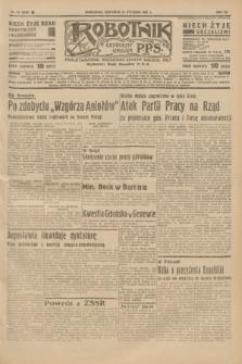 Robotnik : centralny organ P.P.S. R.41 [i.e.43], nr 22 (21 stycznia 1937) = nr 6903