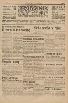 Robotnik : centralny organ P.P.S. R.41 [i.e.43], nr 23 (22 stycznia 1937) = nr 6904