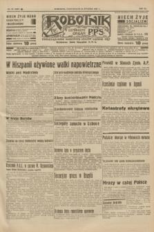 Robotnik : centralny organ P.P.S. R.41 [i.e.43], nr 26 (25 stycznia 1937) = nr 6907