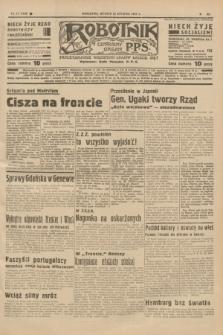 Robotnik : centralny organ P.P.S. R.41 [i.e.43], nr 27 (26 stycznia 1937) = nr 6908