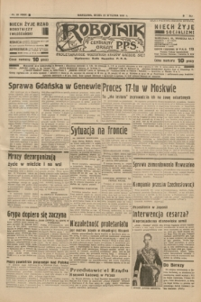 Robotnik : centralny organ P.P.S. R.41 [i.e.43], nr 28 (27 stycznia 1937) = nr 6909