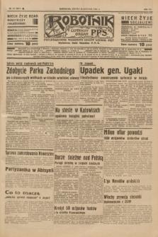 Robotnik : centralny organ P.P.S. R.41 [i.e.43], nr 31 (30 stycznia 1937) = nr 6912