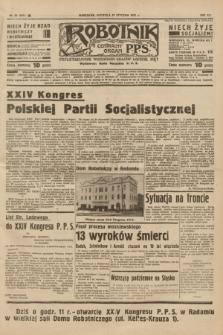 Robotnik : centralny organ P.P.S. R.41 [i.e.43], nr 32 (31 stycznia 1937) = nr 6913