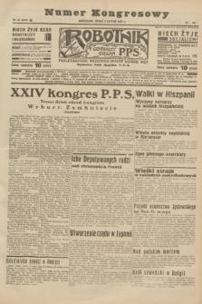 Robotnik : centralny organ P.P.S. R.41 [i.e.43], nr 35 (3 lutego 1937) = nr 6916 (numer kongresowy)